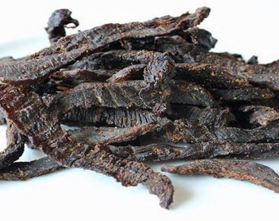 Picture of Buffalo Jerky, Smoked